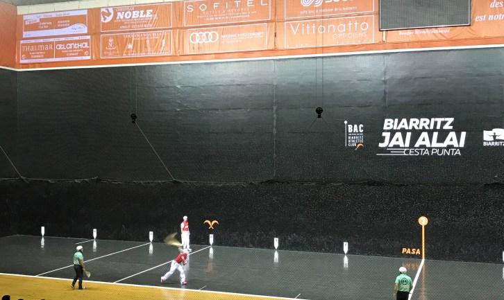 pelote basque biarritz cesta punta demi finale gant d'or