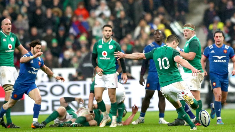 sexton france irlande rugby drop