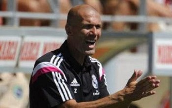 Zidane entraineur Real Madrid