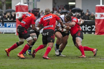 rugby plaquage