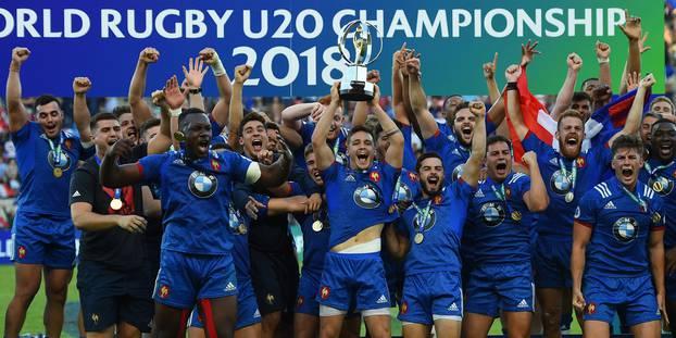 Rugby XV de France : le rugby français doit s'appuyer en priorité sur sa génération des U20, vainqueurs de la Coupe du Monde de sa catégorie en 2018