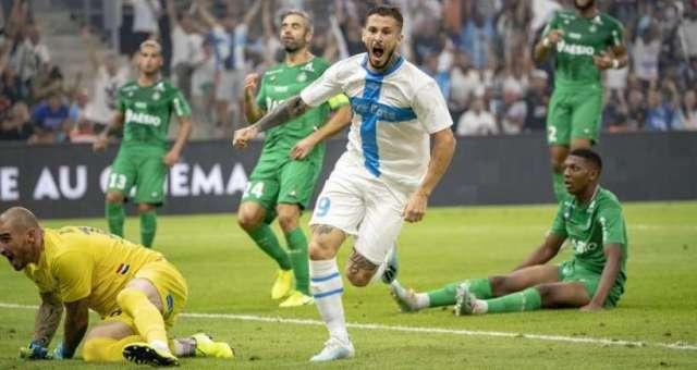 Ligue 1 4ème journée : l'OM enchaîne un deuxième succès consécutif en disposant de Saint-Etienne grâce à un but de Dario Benedetto