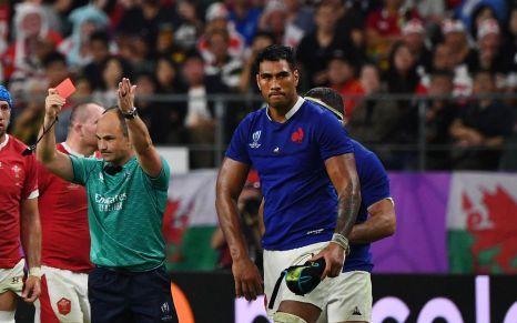 Coupe du Monde Rugby : l'expulsion pour brutalité de Sébastien Vahaamahina a sonné le glas des illusions françaises