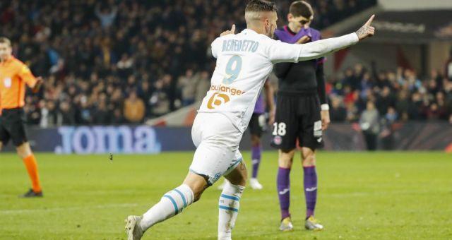 Ligue 1 14ème journée : vainqueur sans briller à Toulouse, l'OM confirme sa place de dauphin derrière le PSG