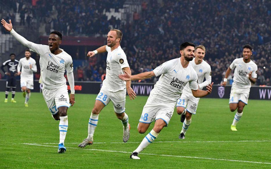 Ligue 1 17ème journée : l'OM a fait une très belle opération en dominant les Girondins de Bordeaux
