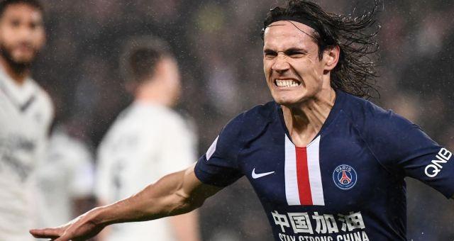 Ligue 1 26ème journée : Edinson Cavani a inscrit son 200ème but sous le maillot parisien lors de la victoire du PSG face à Bordeaux