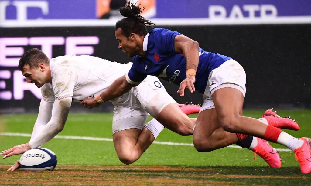 XV de France :  les Français ont concédé près de 75% des leurs points dans les 20 dernières minutes, à l'image de l'essai anglais de Jonny May