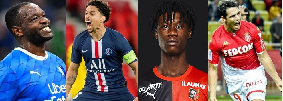 Equipe-type Ligue 1 : Mandanda, Marquinhos, Camavinga, Ben Yedder, découvrez l'équipe-type pour la saison 2019-2020