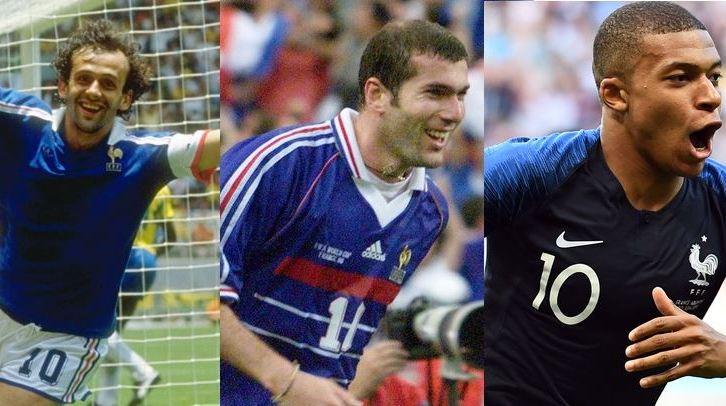 Quiz Equipe de France : Platini Zidane Mbappé... trouvez les 39 buteurs Bleus en Coupe du Monde depuis 1982
