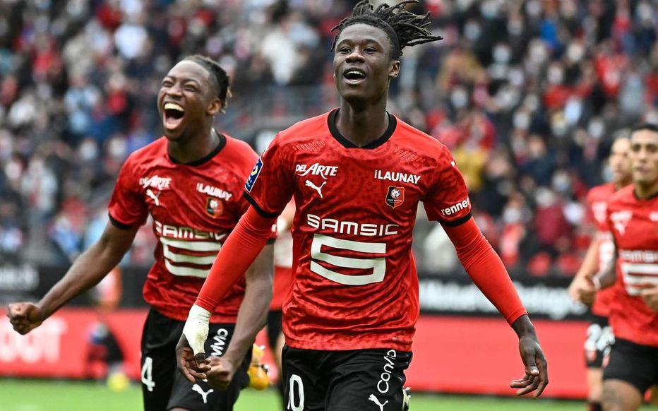 Eduardo Camavinga Ligue 1 2ème journée saison 2020-2021