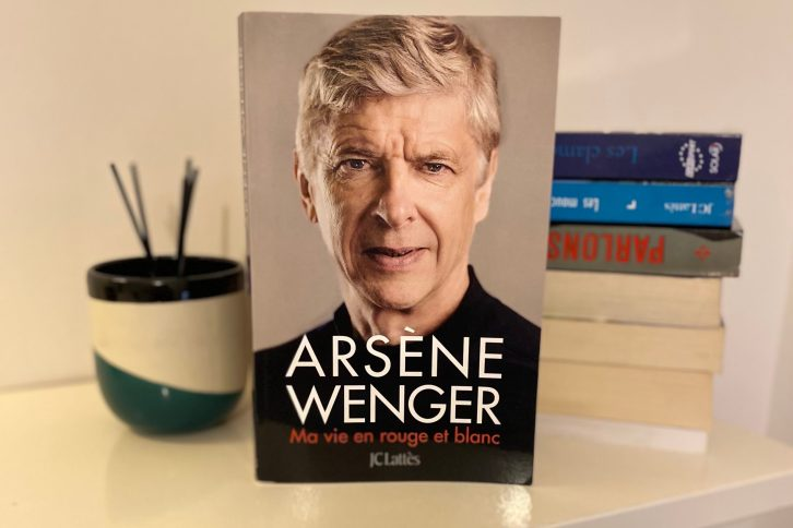 Arsène Wenger, Ma vie en rouge et blanc