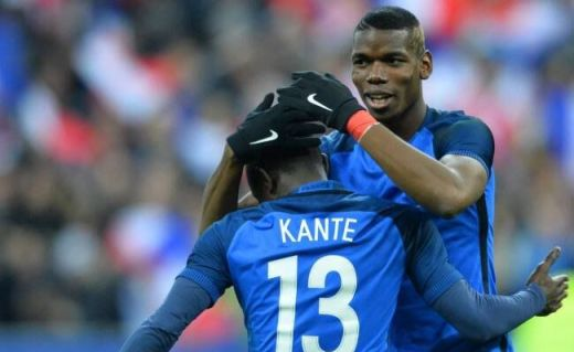 Paul Pogba a régné sur l'entrejeu de l'Equipe de France face à l'Allemagne.