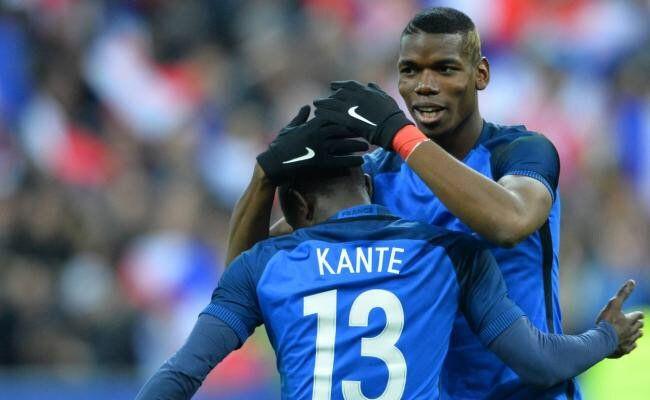 N'Golo Kanté buteur et auteur d'une performance époustouflante au sein de l'entrejeu des Bleus