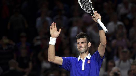 Novak Djokovic, vainqueur à 5 reprises à Paris-Bercy