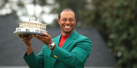 Tiger Woods, tenant du titre du Masters d'Augusta