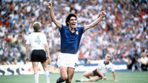 Paolo Rossi, décédé cette semaine à l'âge de 64 ans, avait été le buteur vedette de l'Italie championne du monde en 1982