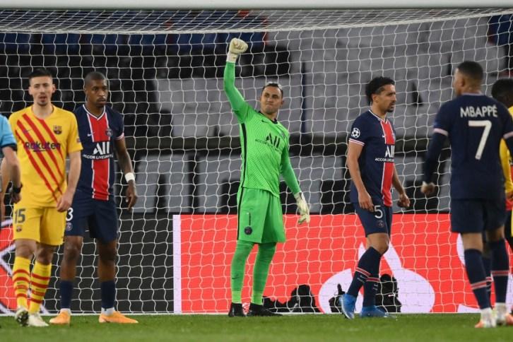 Le PSG se qualifie pour les quarts de finale grâce à un super Keylor Navas