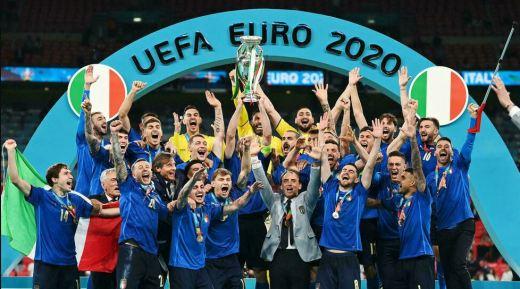L'Italie vainqueur de l'Euro.