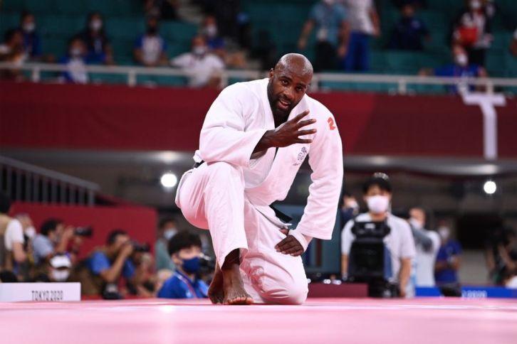 Teddy Riner s'est consolé en décrochant la médaille de bronze