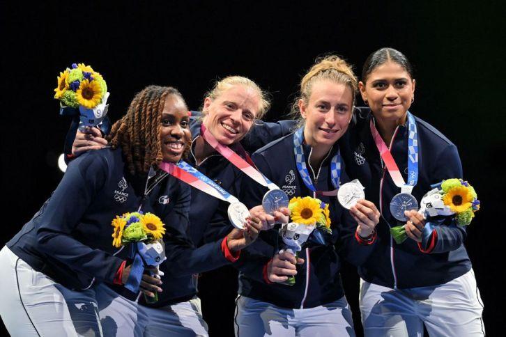 L'Equipe de France de fleuret remporte la médaille d'argent