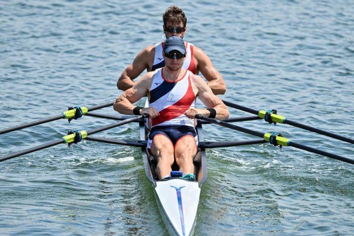 Matthieu Androdias et Hugo Boucheron ont triomphé en finale du deux de couple en aviron