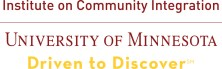 Institute on Community Integration