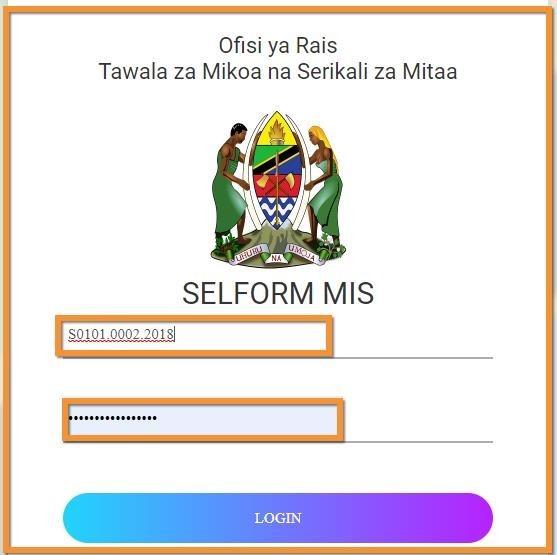 How to login on the Tamisemi selform sytem 2021on www selform tamisemi go tz login