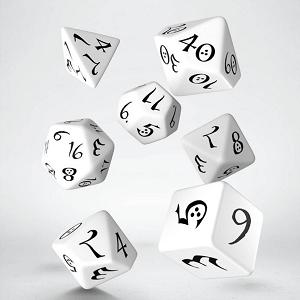 SET 7 DES WHITE / BLACK MINI