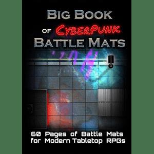 BATTLE MATS CYBERPUNK