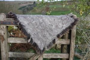 cruelty free sheepskin rug