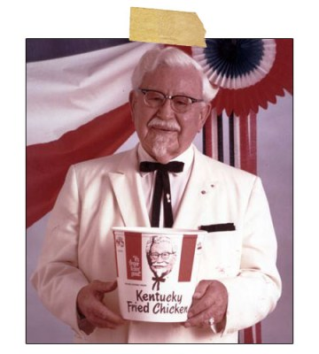 Colonel Harland Sanders, Blog of an Auckland Magician Post