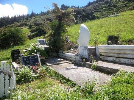 Billy T James Burial Site Taupiri Mountain Grave