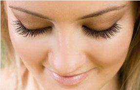 Eyelash extensions are the new blue-black