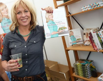 Chewing the fat with Annabel Langbein