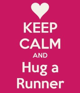 Runners Hugs rule!