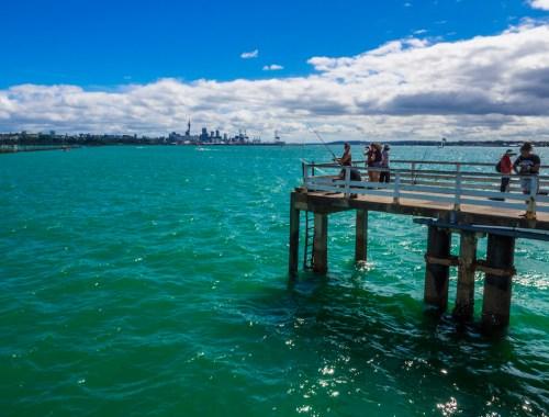 Okahu Quay Fishing