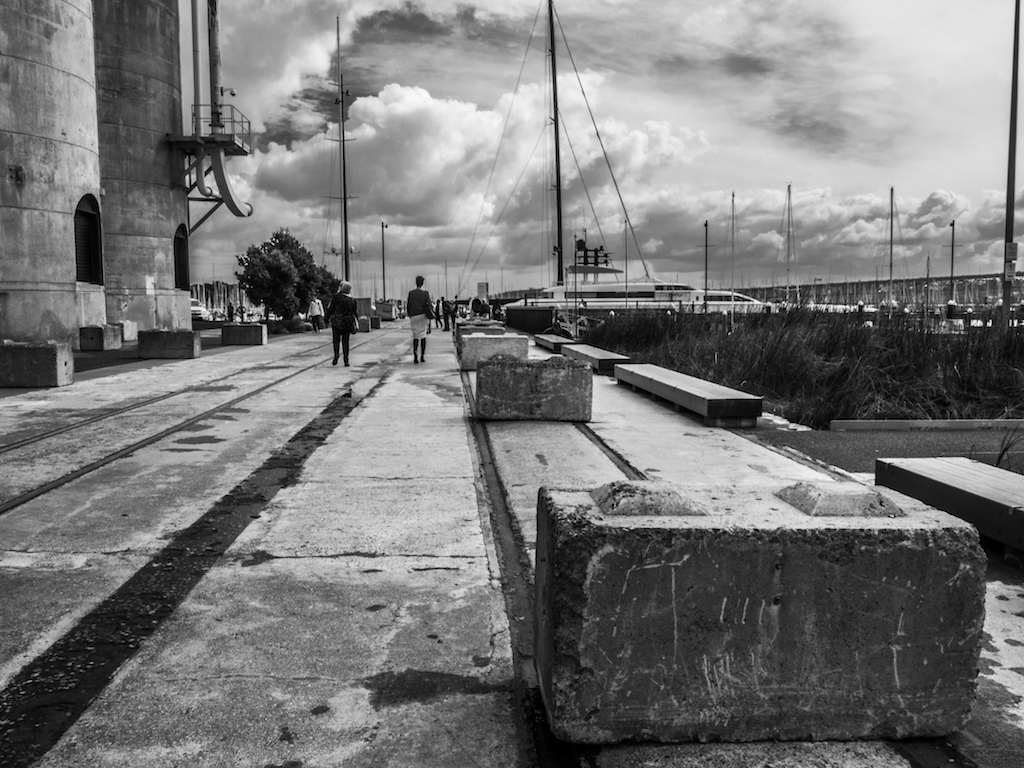 Wynyard Quarter - Black & White