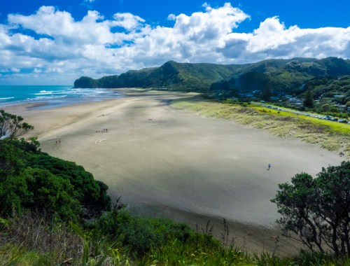 Piha Beach View - Landscape Photography Auckland