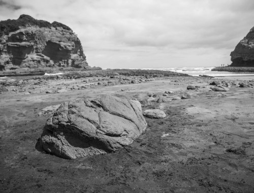 Bethells Beach Low Tide - Landscape Photography Auckland