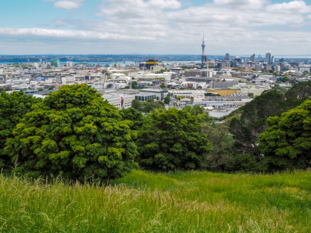 Mt Eden Skyline View - Street Photography Auckland