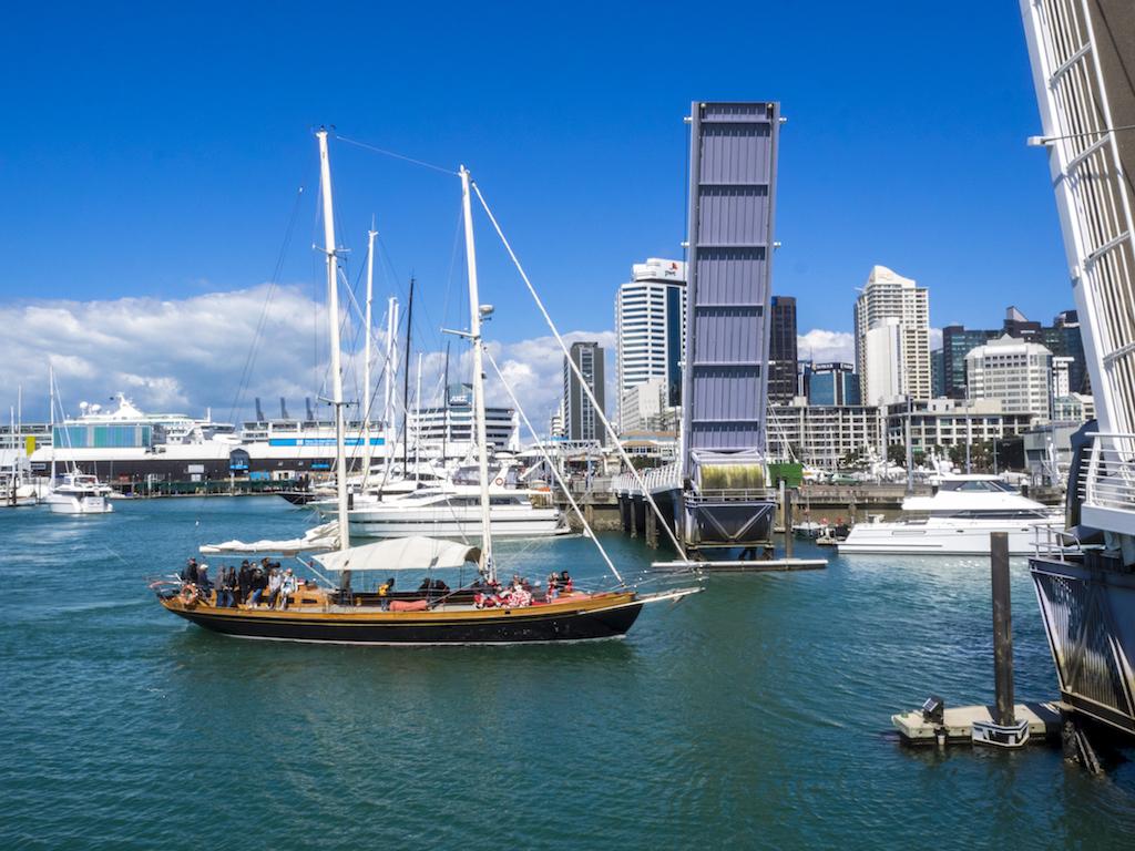 Viaduct Harbour Bridge - Street Photography Auckland