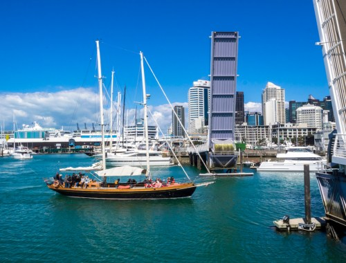 Viaduct Harbour Bridge - Street Photography Auckland
