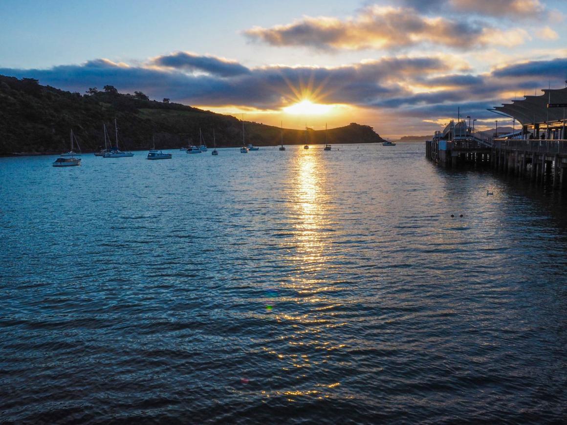 Waiheke Island Sunset - Street Photography Auckland