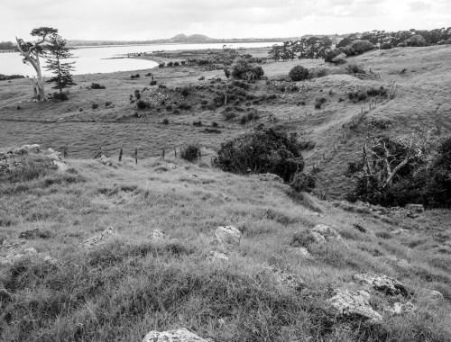 Otuataua Hills Mangere Black and White