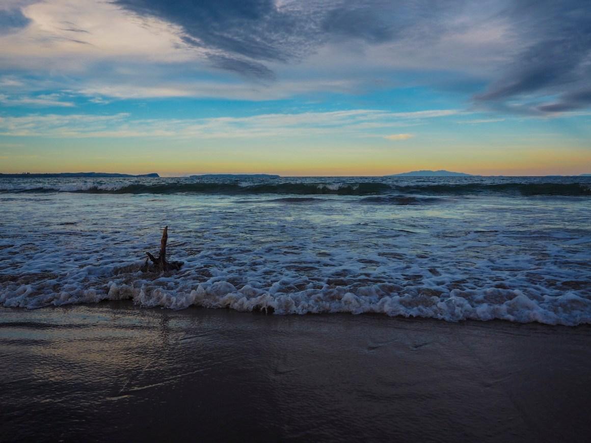 Longbay Beach Sunset - Landscape Photography Auckland