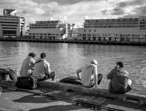 Harbour Hangout - Street Photography Auckland