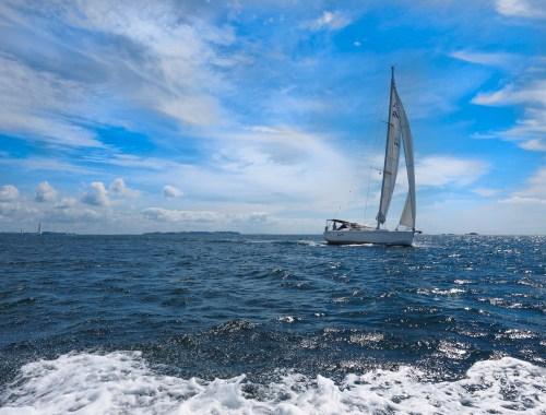 Hauraki Gulf Sailing Yacht - Landscape Photography Auckland