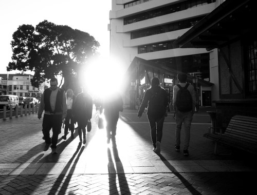 Sunset & Shadows Street Photography Auckland