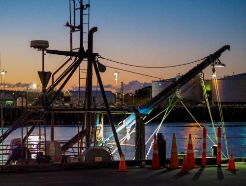 Nightfishing - Wynyard Quarter - Street Photography Auckland