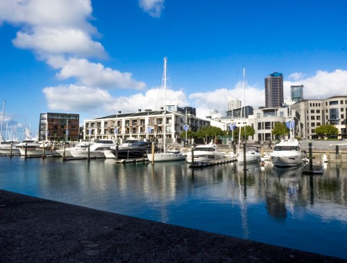 Viaduct Harbour Basin - Auckland Street Photography